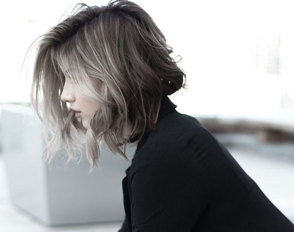 färg till grått hår